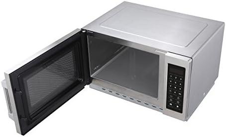 Hendi 281413 profesional 1000 W programable Microondas, 34 L ...