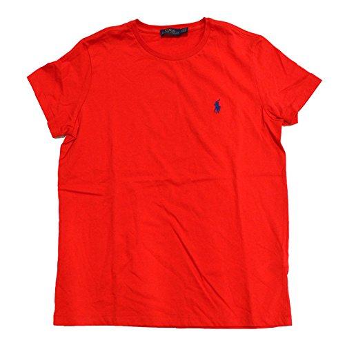 Polo Ralp Lauren Womens Crew Neck Jersey T Shirt (Large, Bright - Polo Ralp