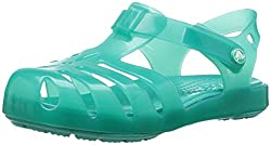 Crocs Girls' Isabella Ps Flat Sandal, Tropical Teal, 5 M Us Toddler