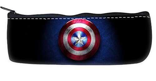 Captain America Pencil Pouch Pencil Case with Zipper