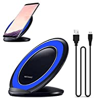 Mchoice Fast Charge Qi Wireless Charging Stand Dock for Samsung Galaxy S8 / S8 Plus