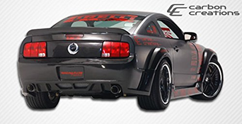 2005-2009 Ford Mustang Carbon Creations Hot Wheels Wide Body Rear Bumper Cover - 1 ()
