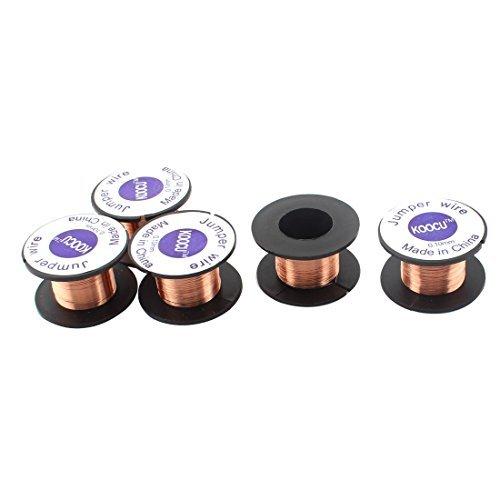 EbuyChX 0.1mm Dia Jewellery Scrap Repair paghihinang panghinang Wire Reel 5pcs