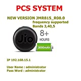 PCS System Jio 4G Hotspot Works With Jio Postpaid & Prepaid 4G Simcards (USB Wired +Wifi Option) (LTE+VOLTE) Supported