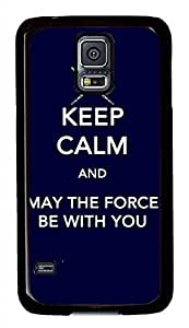 L Keep Calm PC Black Hard Case Cover Skin For Samsung Galaxy S5 I9600