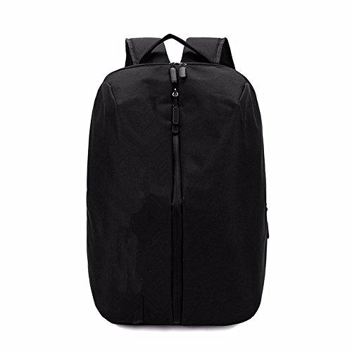 LMDSG Business backpack mens shoulder bag trend travel bag casual student bag simple fashion computer bag black