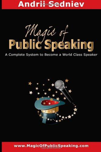 Magic Public Speaking Complete Speaker