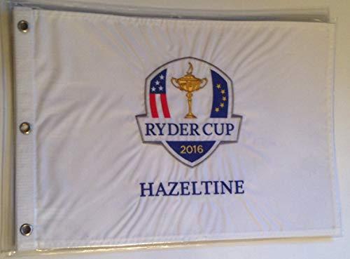 2016 Ryder Cup golf Flag Hazeltine embroidered logo new