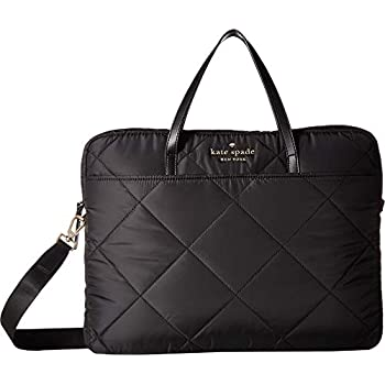 Kate Spade New York Quilted Universal Slim Laptop Commuter Case, Black, One  Size ade925e995