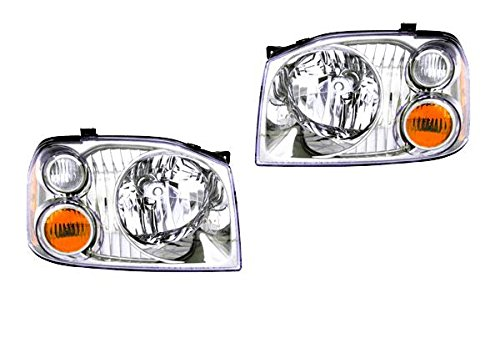Tiffin Allegro Bus 2004-2006 RV Motorhome Pair (Left & Right) Replacement Headlights Head Lights Front Lamps by BuyRVlights