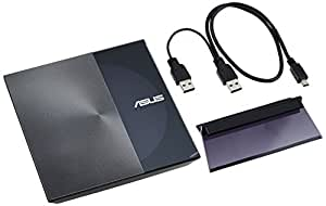 Asus SDRW-08D3S-U - Grabadora de discos externa, plateado