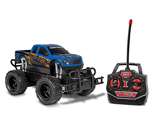 World Tech Toys Ford F-150 SVT Raptor RC Truck Vehicle (1:24 Scale) (Raptor Remote Control Truck)