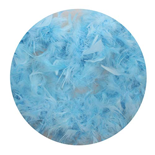 - OmkuwlQ 2 Meter Feather Design Strip Dress Clothes Costume Boa Decorations Wedding Party Decor Solid Color