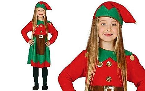 Costume da elfa bambina elfo 10-12 anni  Amazon.it  Giochi e giocattoli baa932633806