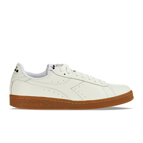 Diadora Game L Low Waxed mixte adulte, cuir lisse, sneaker low