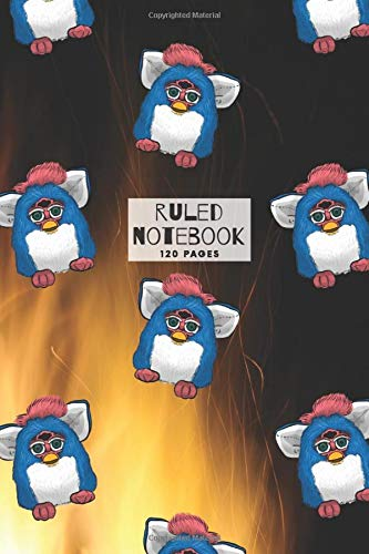 Furby Ruled Notebook: 120 pages of ruled white paper, perfect for journaling, note-taking, and much more - Furby Design