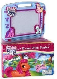 My Little Pony Draw with Ponies Book and Magnetic Doodle (Best My Little Pony Drawing Tablets)
