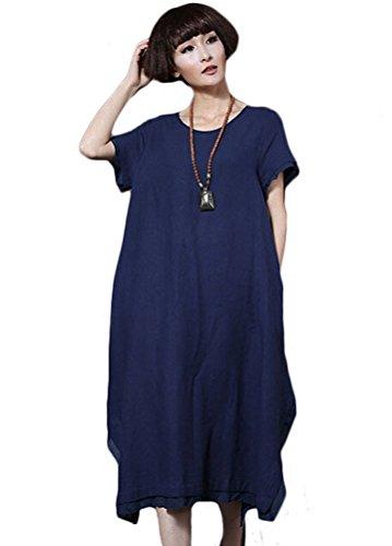 MatchLife - Vestido - vestido - para mujer Azul