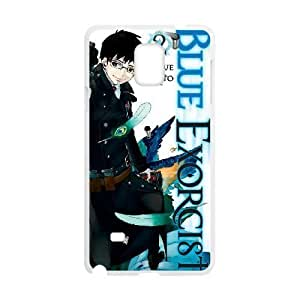 Plastic Durable Cover Cplgp Samsung Galaxy Note 4 N9108 Cell Phone Case White Blue Exorcist Durable Phone Case