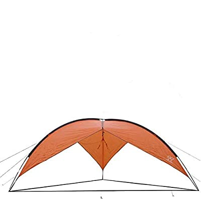 New Good Design Good Material Waterproof Large Canopy Tent Anti-UV Sun Shelter, Easy Setup, Orange Outdoor Camping Garden : Garden & Outdoor