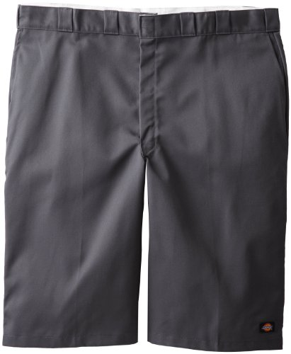 (Dickies Men's Big 15 Inchloose Fit Multi-Pocket Work Short, Charcoal, 48)