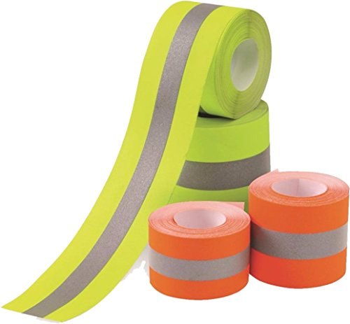 - Sew on High Visibility Hi Vis Retro reflective fabric tape (2