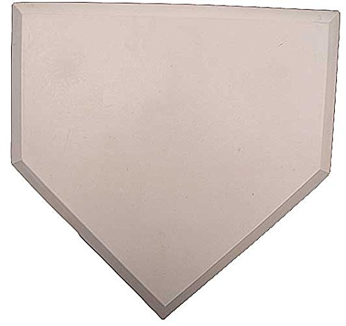 Heavy Duty Rubber Home Plate by Great Lakes Sports