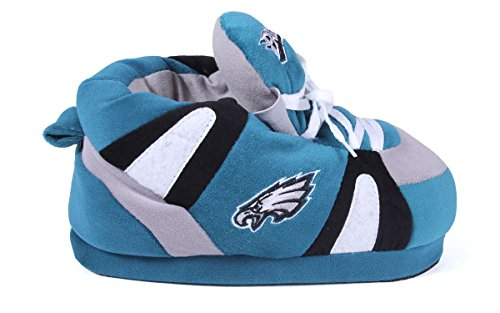 Womens OFFICIALLY Slippers Philadelphia Eagles NFL Feet Comfy Mens and LICENSED Sneaker Feet Happy xRZU4fOwq0