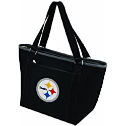 PICNIC TIME NFL Pittsburgh Steelers Topanga Insulated Cooler Tote, Black