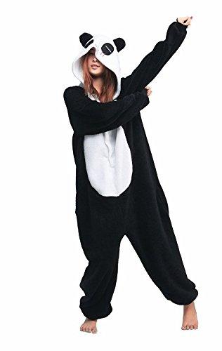 check-out a37c7 ccdf4 Kigurumi per Halloween, pigiama da attivare (Panda): Amazon ...