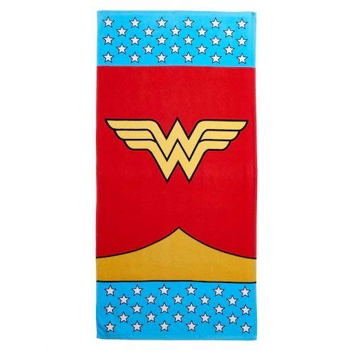 Franco Wonder Woman Fight for Rights Beach Towel ()