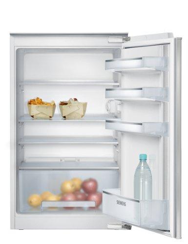 Siemens KI18RV60 iQ100 Einbau-Kühlschrank / A++ / Kühlteil: 150 L / weiß / SafetyGlas-Ablagen / Flachschanier