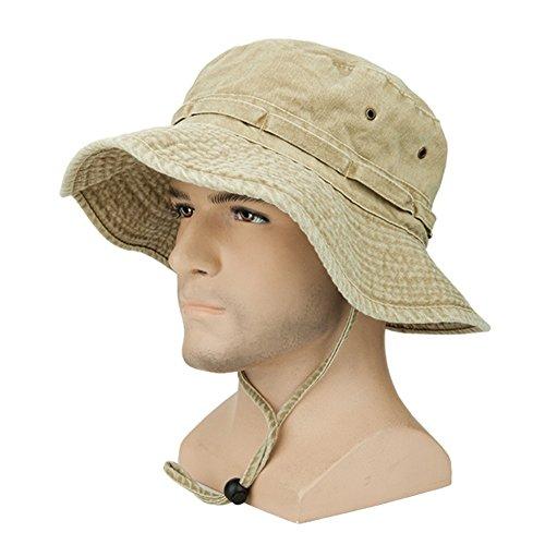 固める散歩に行く組バケットハット サファリハット メンズ 帽子 キャップ スポーツ アウトドア 日除け 夏 大きいサイズ サイズ調整 CAP イエロー/グレー/ブルー/グリーン/ブラウン S/M/L/XL
