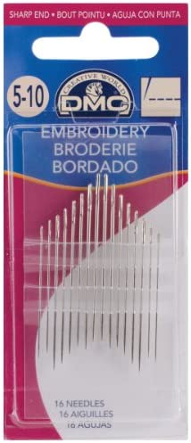 75 Hand Sewing Needles Size 5 for Household /& Embroidery CHOOSE Pack of 15 x 5