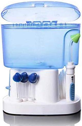 Knoijijuo Oral Aspirador Nasal irrigador hidroeléctrica Nariz Pulso y más limpias Sistema de irrigación de los Senos SinuPulse Adultos Niños