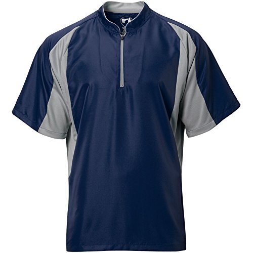 Wire2wire Mens Performance Short Sleeve Cage Jacket Navy/Grey XL