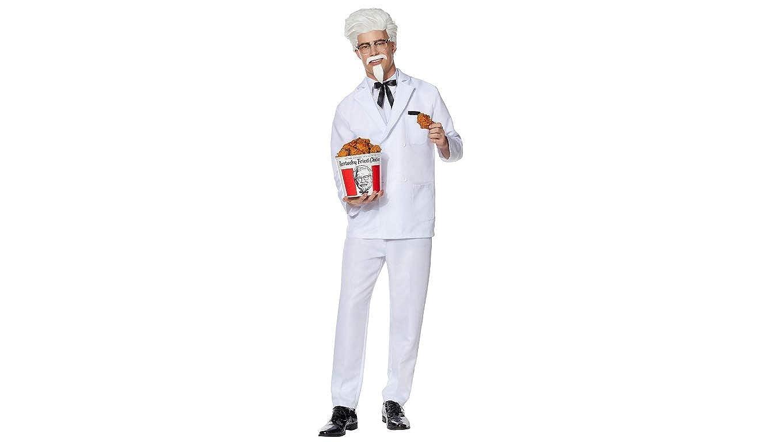 Amazon.com: Mens Colonel Sanders Kentucky Fried Chicken ...