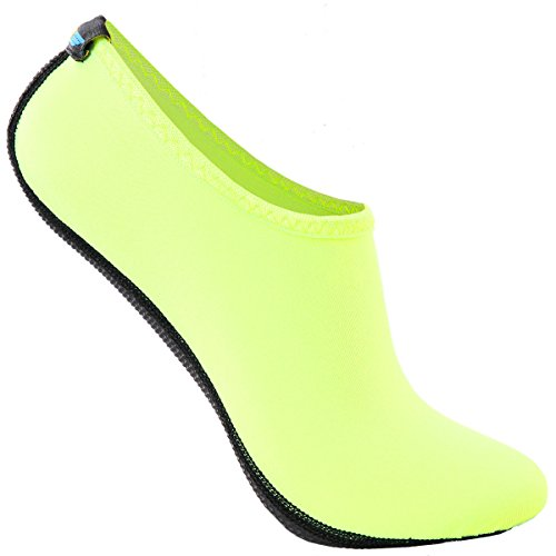 bba-quick-dry-ultra-light-weight-water-skin-shoes-neoprene-low-cut-aqua-shoes-ias001-neongreen-l
