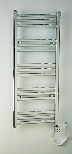 Heated Towel Bar Rack Wall Mount Rail Electric Bathroom Warmer and Space Heater R1532C-300. CDM