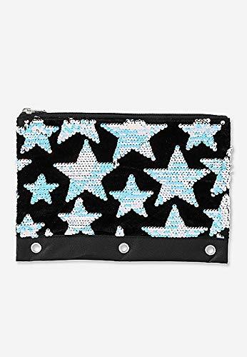 (Justice Star Velvet & Flip Sequin Pencil Case)