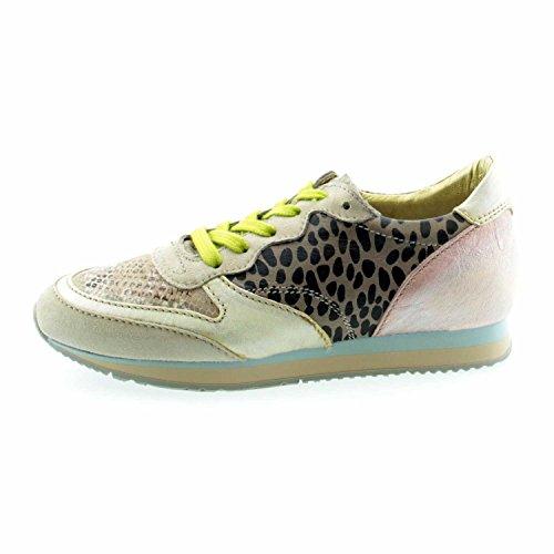 Zapatos 26277 2 2 mujer de Beige cordones anwr para Kombi 602101 wStqxC8