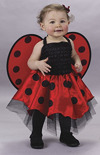 (Ladybug Costume Baby One Size Fits Up To 24)