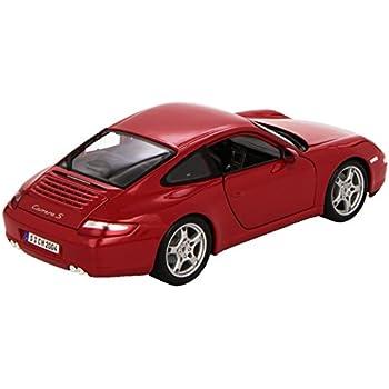 Red Porsche Carerra S 911 - Special Edition Die Cast Model Maisto