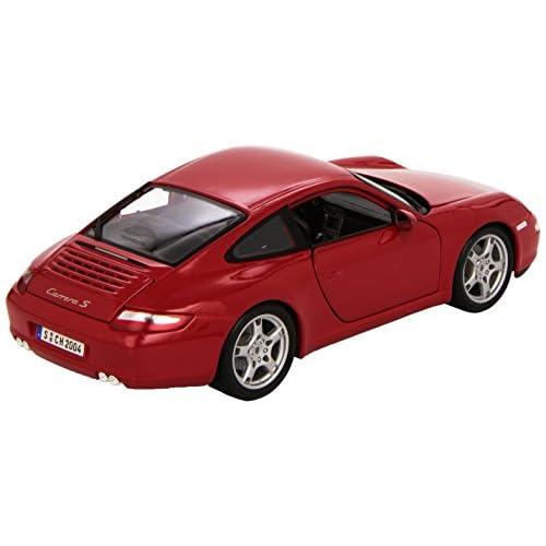 Maisto Véhicule - 1/18ème - Porsche 911 Carrera S - échelle 1/18 - Coloris aléatoire