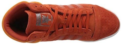 cheap for discount 0c412 b128b adidas Originals Men s TOP Ten HI Running Shoe Craft Chili Unity Orange  Fabric, 8.5