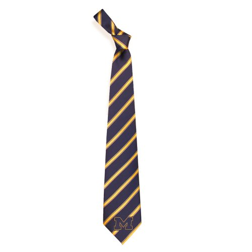Michigan Wolverines Collegiate Woven Polyester Necktie