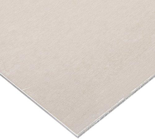 2024 Aluminum Sheet, Unpolished (Mill) Finish, T3 Temper, Meets ASTM B209, 0.040