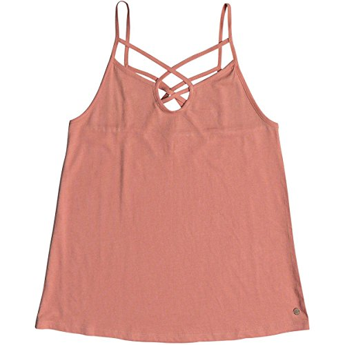 (Roxy Women's Romantic Way Tank Shirts, Large,Lobster Bisque)