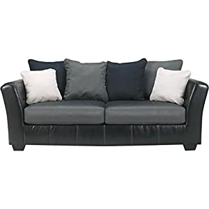 Amazon Com Ashley Furniture Masoli Sofa In Cobblestone