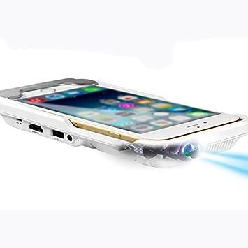 Atongm D9 Plus Pico Mini LED DLP Proyector 1500 lumens 854 x 480 ...